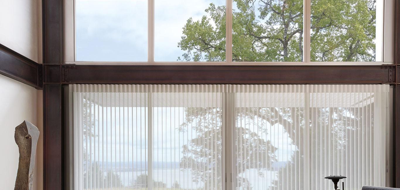 Cortina Luminette® - Hunter Douglas -  Living (sala)