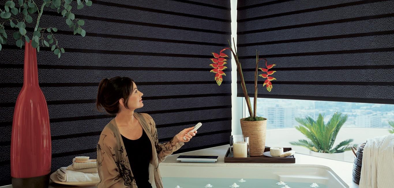 Cortina Vignette® - Hunter Douglas - Banheiro