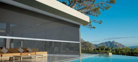 Cortina Ultimate Screen - Hunter Douglas - Terraço/Varanda